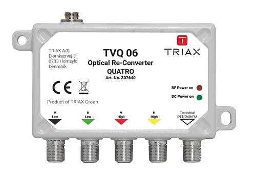 TRIAX TVQ 06 - Mini Re-converter Quatro 1