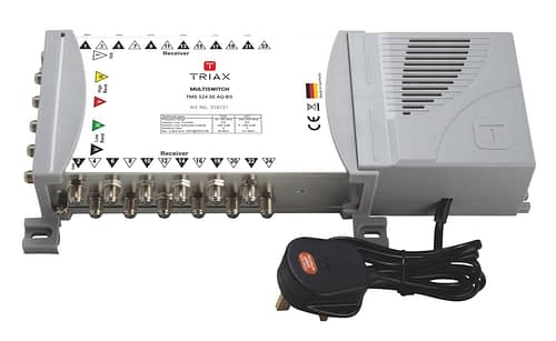 TRIAX 5x24 Multiswitch TMS524 Quad / Quattro LNB Input 1