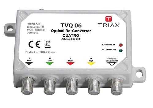 TRIAX TVQ 06 - Mini Re-converter Quatro 4