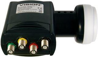 Vision V85-IRS LC Quattro Universal LNB 2