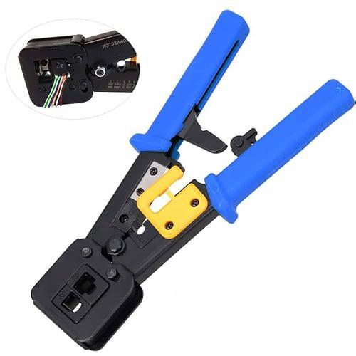 RJ45 Crimp Tool Crimps & Cuts 6