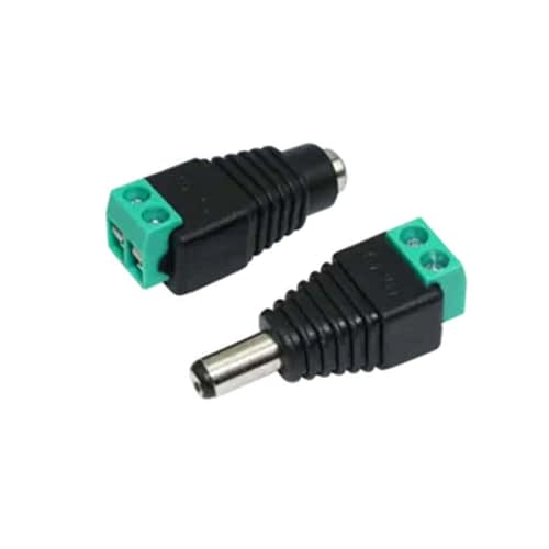 2.1mm DC Barrel Connector with Screw Terminals