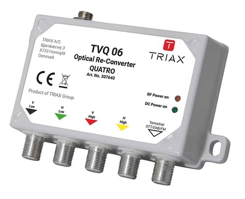 TRIAX TVQ 06 - Mini Re-converter Quatro 2