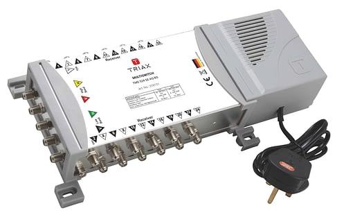 TRIAX 5x24 Multiswitch TMS524 Quad / Quattro LNB Input 4
