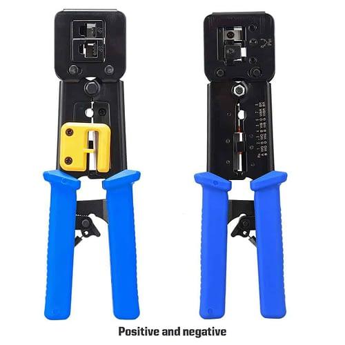 RJ45 Crimp Tool Crimps & Cuts 5