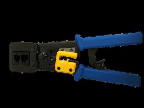 RJ45 Crimp Tool Crimps & Cuts 2