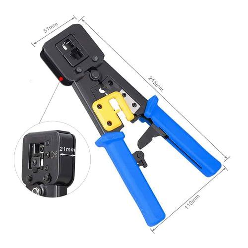 RJ45 Crimp Tool Crimps & Cuts 3